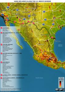 メキシコ麻薬カルテルと米国ギャング