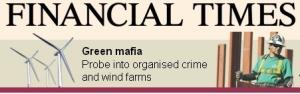 風力発電に群がるグリーン・マフィア