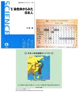 「Y染色体から見た日本人」(岩波書店)