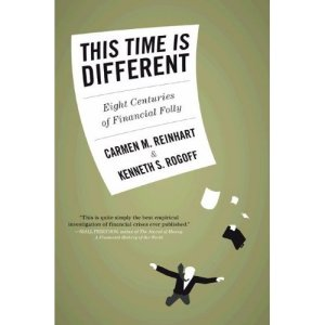 This Time is Different: Eight Centuries of Financial Folly (ケネス・ロゴフ & カーメン・ラインハート)