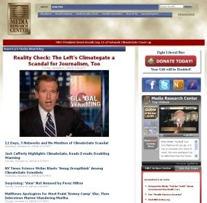 ファイト・リベラル・バイアスのMedia Research Center