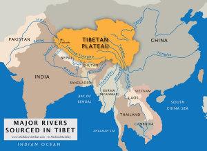 The Dragon and the Elephant 水をめぐって中印衝突?ー鍵握るチベット(2)を地図で見る