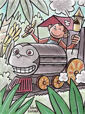 ケネス・ロゴフ、日本の財政状況「(おサルの)電車の衝突事故を待っている状態」