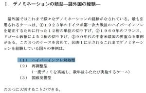 三菱総合研究所:「円のデノミネーション」の経済分析