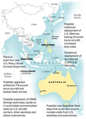 オフショア・バランシングでタンポポ・USA、米豪が中国睨んで軍事協力拡大協議