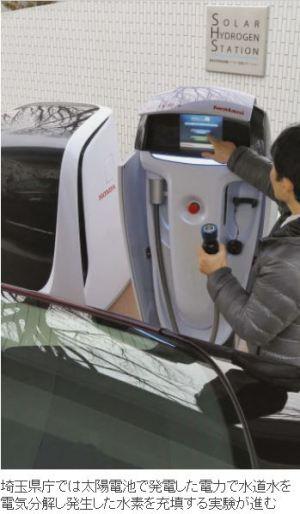 日経:燃料電池車が変える(上)1億円の車、今や500万円