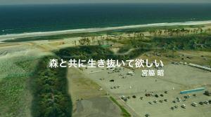 30年後の宮城県岩沼市「千年希望の丘」予測図 =尚美学園大学提供